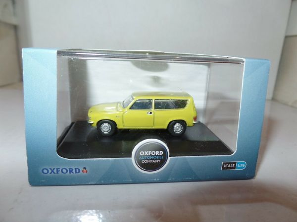 Oxford 76ALL001 ALL001 1/76  OO Scale BLMC Austin Allegro Estate Citron Yellow S